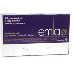 Emla Cream 5g with x2 Dressing